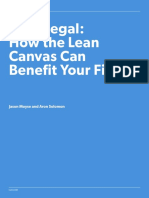 Lean Legal How the Lean Canvas Can Benefit Your Firm