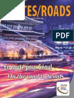 2206,Revue Routes Roads Magazine 367 World Road Association Mondiale de La Route