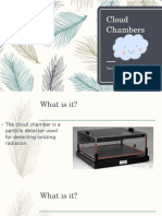 Cloud Chambers