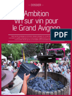 Ambition vin sur vin pour le Grand Avignon