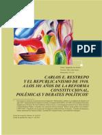 El Repuplicanismo de Carlos E. Restrepo