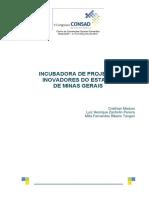 181 Incubadora de Projetos Inovadores Do Estado de Minas Gerais