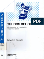 Becker Howard Trucos del Oficio