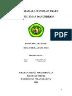 Emas Dan Zirkon