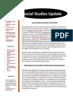 Social Studies Update February 2016