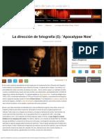 La Dirección de Fotografía (5)_ 'Apocalypse Now'