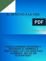 DERECHO A LA VIDA.ppt