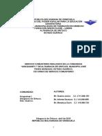 Informe Servicio Comunitario Corregido