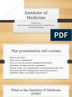institute of medicine-final group2