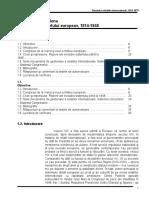 Diplomatie Si Istorie Politica 1814-1878 U1