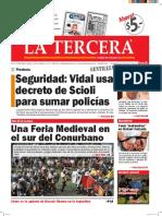 Diario La Tercera 23.03.2016