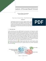 EmailEgoNetworks - Praveen Kumar Gurumurthy