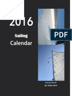 The 2016 Sailing Calendar