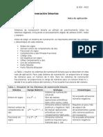 Sistemas de Numeración Binarias