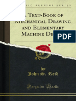 A Text-Book of Mechanical Drawing and Elementary Machine Design 1000030526