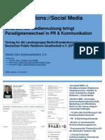 Digital Relations - Social Media - Daniel Görs DPRG Berlin-Brandenburg
