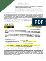 Lettera Aperta Del Vecchio 23 Marzo 2016