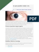 7 Toxíndromes Que Pueden Matar a Tu Paciente