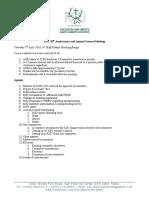 KSU AGM 2016 Agenda