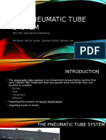 the pneumatic tube system