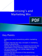 advertising and marketing mix