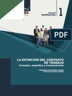 La Extinción Del Contrato de Trabajo peruano