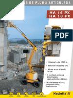 Ficha Tecnica Ha16-18px Diesel