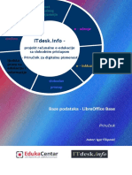 Prirucnik Baze-podataka Libreoffice Base