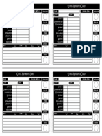 Fantasy AGE - Quick Reference Cards