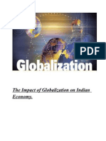 The Impact of Globalization on Indian Economy