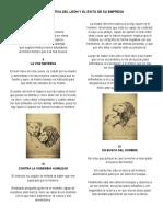 La Tentativa Del León y El Éxito de Su Empresa Resumenes