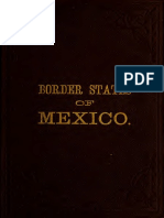 Border States of Mexico Sonora Sinaloa Chihuahua and Durango 1882