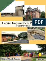 North Adams Capital Improvement Plan FY2017-2021