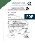 Formulir Pendaftaran Voli Cup