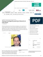 Avanza Investigación Penal Por Desacato en Tema Eisen - Edicion Impresa - ABC Color