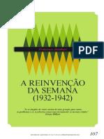 ALAMBERT, F. (2012) Reinvenção Da Semana 1932-1942