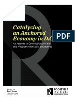 Catalyzing an Anchored Economy in DC