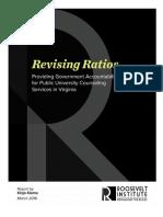 Revising Ratios