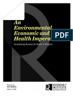 An Environmental, economic and Health Imperative
