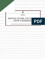 Manual de Bar Coctelería Vinos y Maridajes