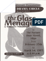 The Glass Menagerie Flyer