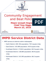 IMPD beat policing plan