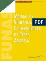 Manual de Vigilância Epidemiológica de Febre Amarela
