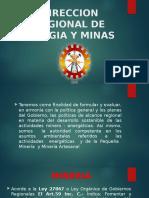 Direccion Regional de Energia y Minas
