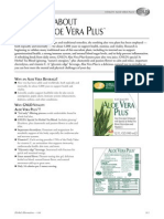 GNLD Aloe Vera Plus - Fast Facts