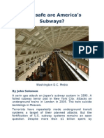 How Safe Are America's Subways