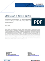 Utilising SOA in defence logistics