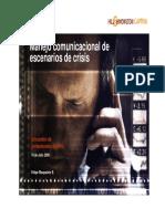 Manejo Comunicacional de Escenarios de Crisis - Felipe Risopatron