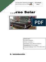 Horno Solar Alvaro