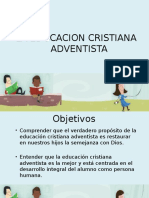 Educacion Adventista.tema 1